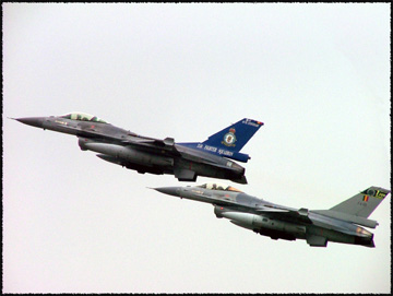 Belgian Air Component Lockheed F-16A(M) Fighting Falcons