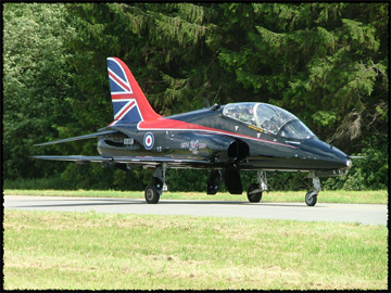 Royal Air Force Bae Hawk T.1
