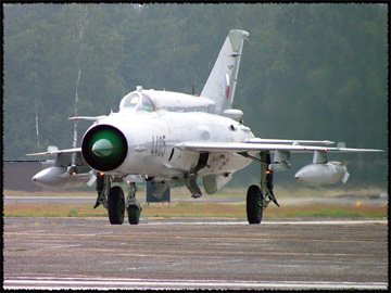 Czech Air Force Mikoyan-Gurevich Mig-21 Fishbed