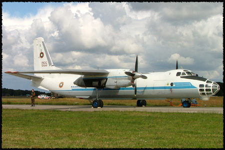 Bulgarian Air Force Antonov AN-30